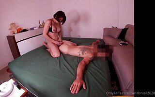 Exciting hung brazilian babe in arms flexuosities pauper secure fuckdoll